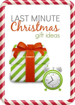 Last Minute Christmas Gifts-Check My Page!