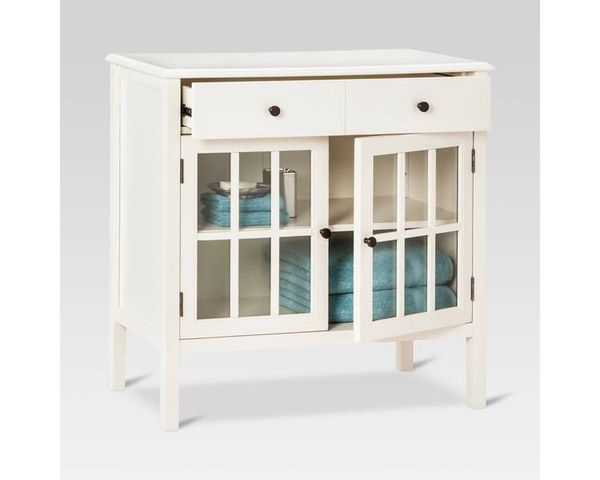 Clearance Windham  Door Cabinet With Drawers Threshold Target Furniture In Houston Tx