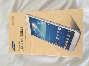 Samsung Galaxy Tab 3 with cover