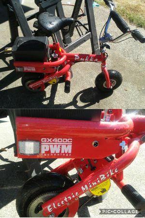 Pukka mini bike