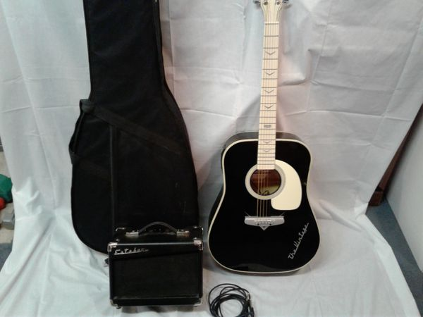 Esteban limited-edition electric acoustic guitar and amp