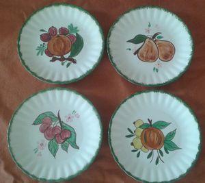 Vintage Blue Ridge Southern Pottery Plates