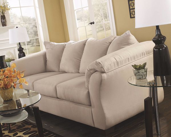 Sofa from Ashley Furniture Stone Color Furniture in Durham NC