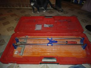 RUBI TOOLS TS-66-MAX Tile Cutter with Case