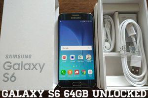 Galaxy S6 64GB UNLOCKED (Like New)