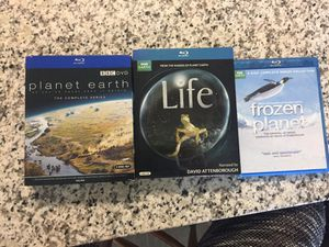 All 3 BBC Planet Earth Frozen Planet