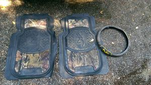 Truck mats,steering cover,one seat cover