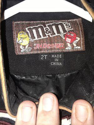 M&M toddler NASCAR jacket