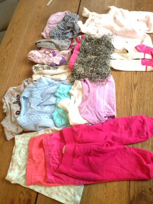 9-12mos girls clothes