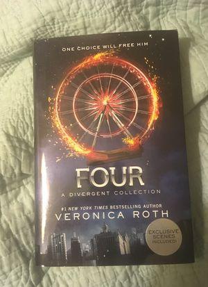 Four DIVERGENT SERIES autographed book