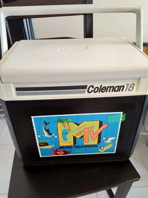 Coleman Cooler MTV Collector's Item
