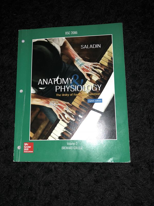 Anatomy and Physiology II lecture book isbn: 978-1-260-26235-3 ...