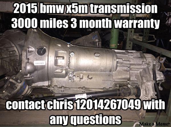 2016 x5m transmission
