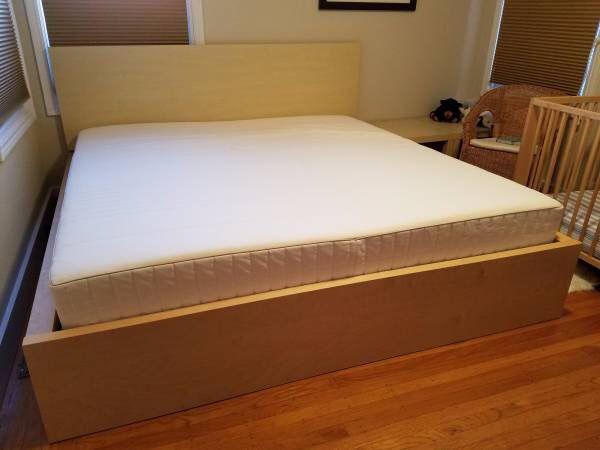 ikea queen size bed frame mattress
