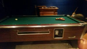 Pool Table Made By Valley