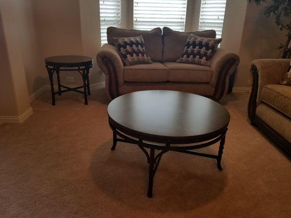 Living Room Furniture Sofa Love Seat Coffee And 2 End Tables