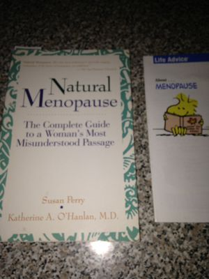Book for natural Menopause by MD