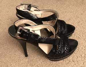 Michael Kors Black Patent Heels