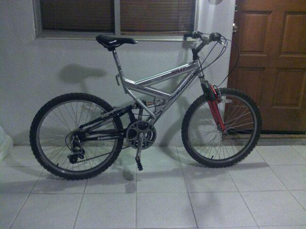 Vertical Pulse Aluminium 21 Speed Shimano Frame Mountain Bike