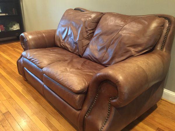 Leather Sofa Love Seat
