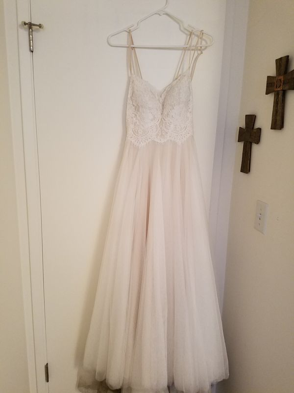 BHLDN Rosalind dress, size 2, slighly used, added bra cups and ...