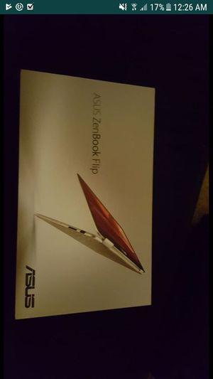 Asus Zenbook Flip SSD Touchscreen 360º with Original Packing