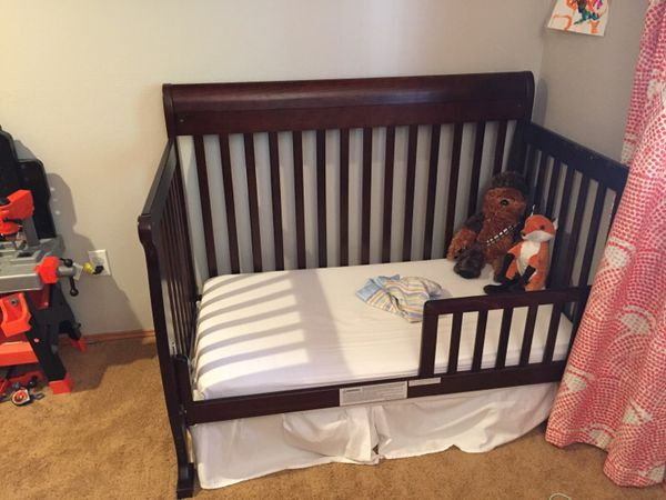 crib mattress full size bed frame baby kids in bothell wa offerup. Black Bedroom Furniture Sets. Home Design Ideas