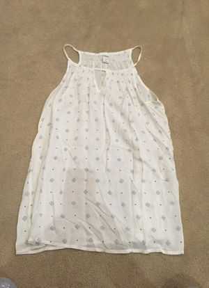 Old Navy white and blue Cami Top size s/p/p