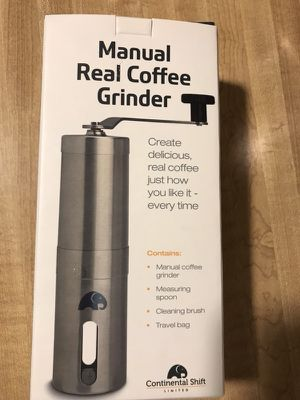 Brand new Manual Coffee Grinder - Ceramic Burr for Precise Grind