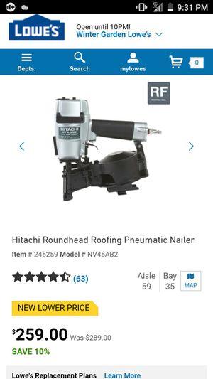 Hitachi 45mm Roofing Nailer