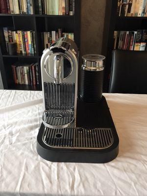 Nespresso Citiz Espresso Maker & Milk Frother