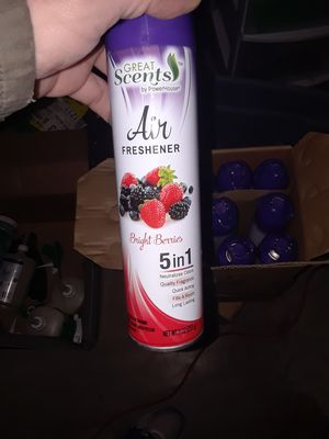 Air freshener- 24 cans new
