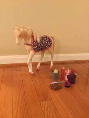 American Girl Pony and Accessories