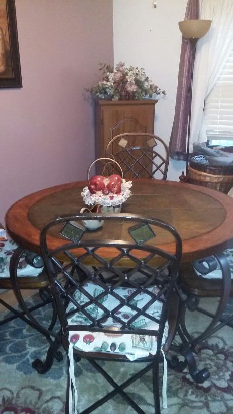 Slate Dining Table And Chairs Furniture In Pittsburgh PA