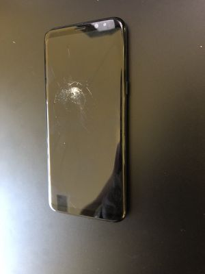Samsung S8 Plus 64gb Factory Unlocked cracked glass still works perfectly