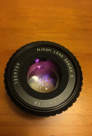 50mm F1.8 Nikon Series E Lens
