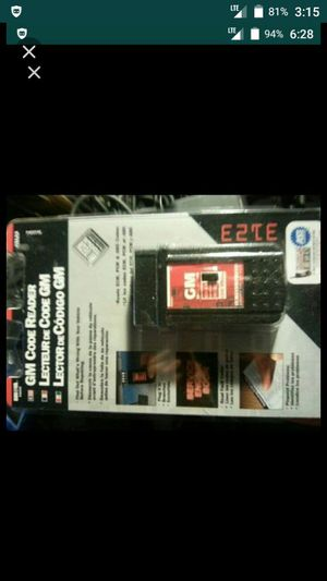 GM Code Reader for 1982 to 1995 Cars & Trucks