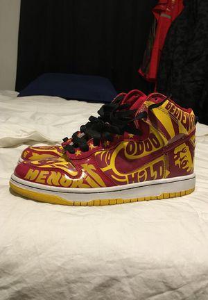 Jimmy Hendrix SB Dunks - Size 10