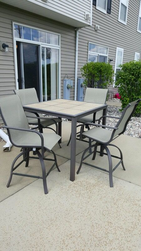 patio set and chairs furniture in orland park il offerup