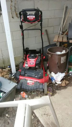Troy bolt mower 400$