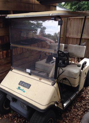 Steel body ezgo golf cart