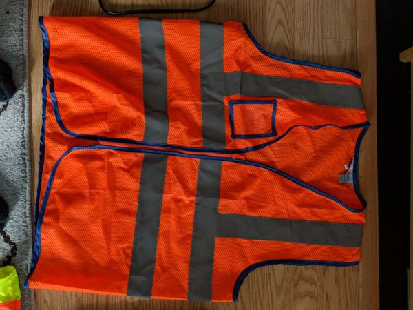 Orange Construction Vest Clothing Shoes In Hayward CA