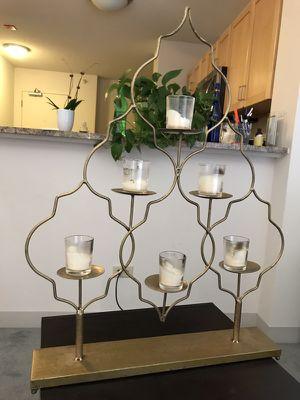 Candle holder decorative piece