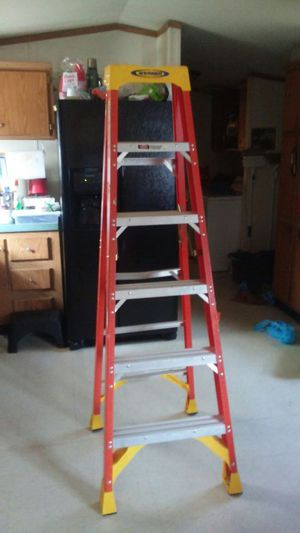 Werner 6ft fiberglass ladder