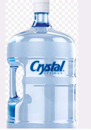 5 gallon water jug for crystal springs refill