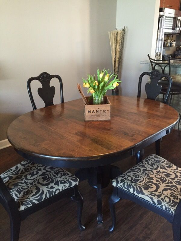 3ft by 3ft table with a 2ft leaf home garden in for Aa salon schaumburg