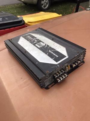 Dual amp 600 watts