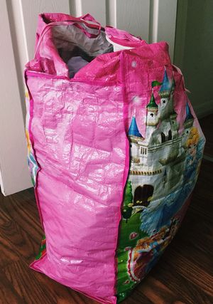 Big bag full of baby clothes (girls)