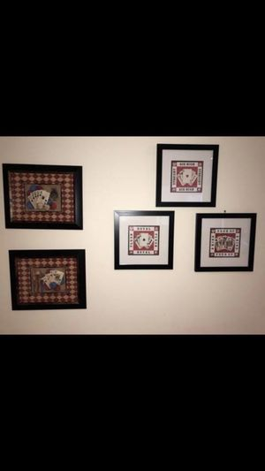 Poker Wall Frames