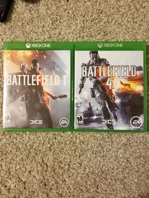 Battlefield 1 and 4 - Xbox One